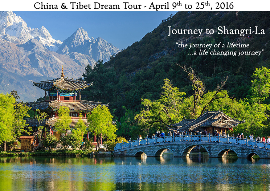 China Dream Tour April 2016